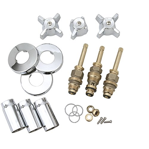 Moen Old Style Clear Replacement Faucet Handle 13092: BrassCraft SK0336 Tub And Shower Faucet Rebuild Kit For