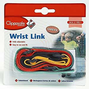 Clippasafe Wrist Link - Multi Coloured [Baby Product]