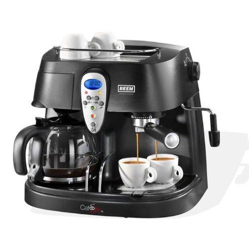 caf beem d 2000 607 cafeti re lectronique caf et expresso 2 en 1. Black Bedroom Furniture Sets. Home Design Ideas