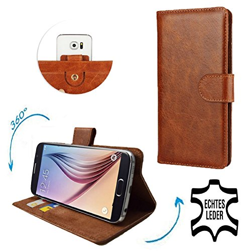 Shopping mit artikelunion.de - Premium Echtleder Smartphone Schutzhüll