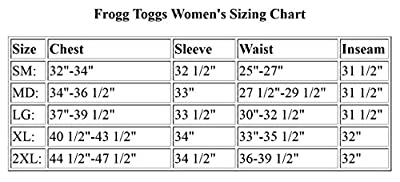 Frogg Toggs Women's Pro Action Rain Pant