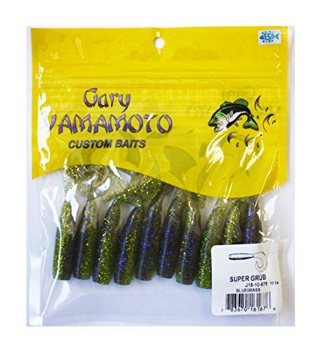 ゲーリーヤマモト(Gary YAMAMOTO) ルア- ティムコ スーパーグラブ 5インチ 976ブルーグラスの商品画像