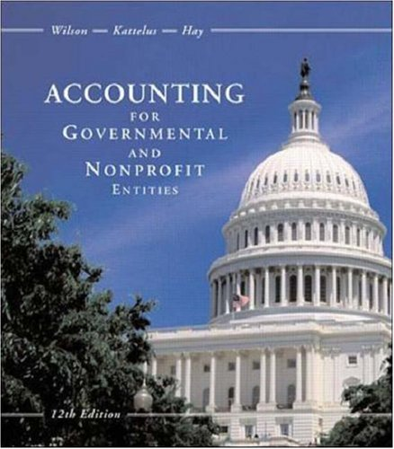 Accounting for Governmental and Nonprofit Entities with City of Smithville Package
