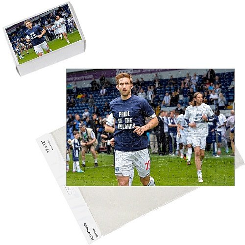 Photo Jigsaw Puzzle of Soccer Barclays Premier League - West Bromwich Albion v Manchester from West Bromwich Albion