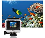 Sports Camcorder, KIPTOP Underwater Waterproof Camera, Sports Action Bicycle Helmet Car DVR Recorder 12MP HD 1080P Wide-Angle Lens + Variety of Stands/Mounts/Casing for Skiing, Snowboarding, Surfing, Hiking, Climbing, Extreme Sports