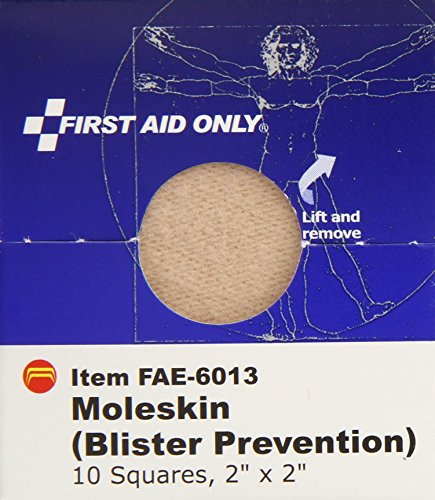 Consumer Awareness Aids Cpo Sales And Prices: First Aid Only Moleskin Blister Prevention, 10 Count