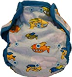 Kissa's Diaper Print Cover, Airplanes