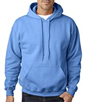 Gildan Adult Heavy Blend? Hooded Sweatshirt (Antique Sapphire) (Small)