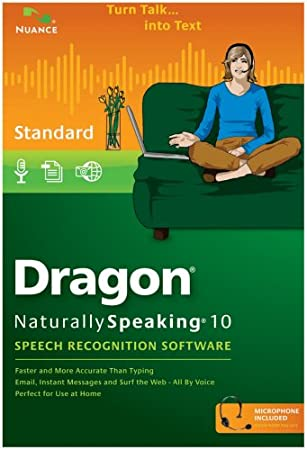 Dragon NaturallySpeaking Standard 10.0 (PC DVD)