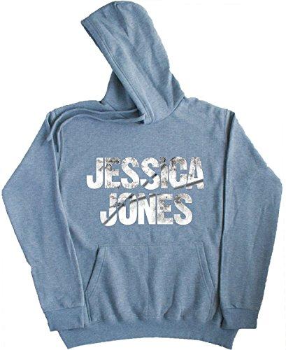 Jessica Jones Gray Hooded Sweater MCON (L)