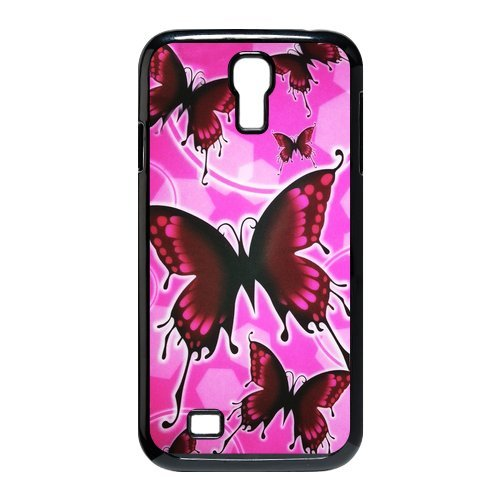 Generic Cell Phone Cases Cover For Samsung Galaxy S4 Case I9500 Case Fashionable Art Designed With Beautiful Butterfly - K Personalized Shell front-1039025