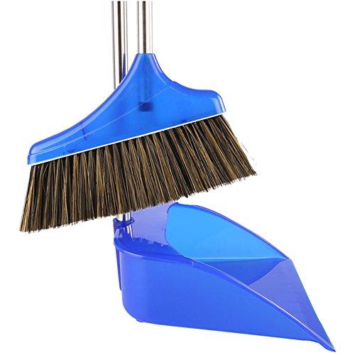 Flovex Stainless Steel Foldable Broom Dustpan