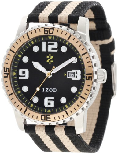 IZOD Men's IZS3/5 GOLD Sport Quartz 3 Hand Watch