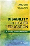 img - for Disability in Higher Education: A Social Justice Approach book / textbook / text book