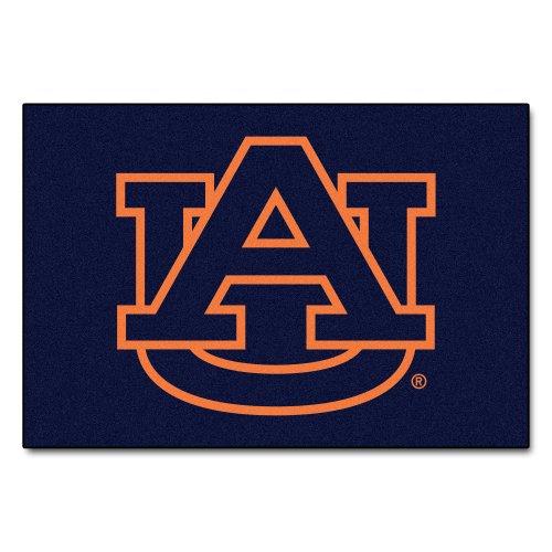 FANMATS NCAA Auburn University Tigers Nylon Face Starter Rug