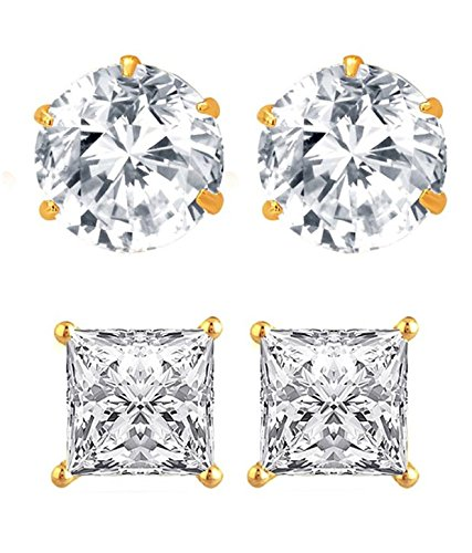 Youbella Gold-Plated Stud Earrings For Women/Girls