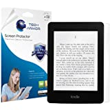 Tech Armor Kindle Paperwhite/Original Paperwhite High Defintion (HD) Clear Screen Protectors - Maximum Clarity and Touchscreen Accuracy [3-Pack] Lifetime Warranty