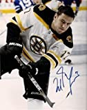 Milan Lucic Boston Bruins signed helmet less 8x10 at Amazon.com
