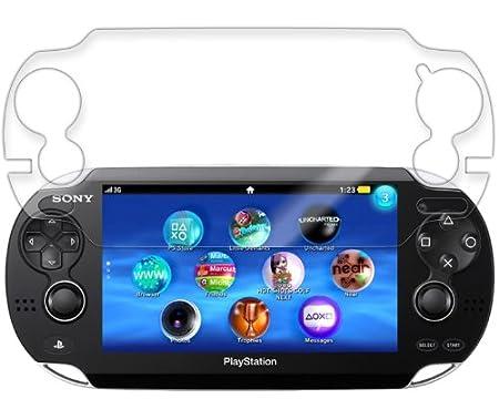 Skinomi TechSkin - Sony Playstation PSP Vita Screen Protector Ultra Clear Shield + Lifetime Warranty