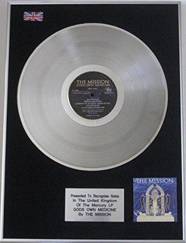 Mission-Platinum disco LP Gods di medicinali