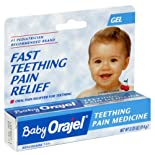 Baby Orajel Teething Pain Medicine, Gel .33 oz