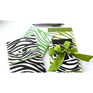 Pamela Gladding Lime Green Stationary Gift Set of 5