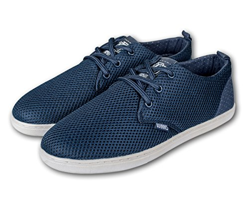 DJINNS - Low Lau Mesh / Points (navy) - Sneaker (42, navy)