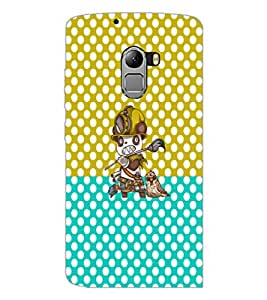 PrintDhaba Cartoon D-3631 Back Case Cover for LENOVO VIBE X3 c78 (Multi-Coloured)