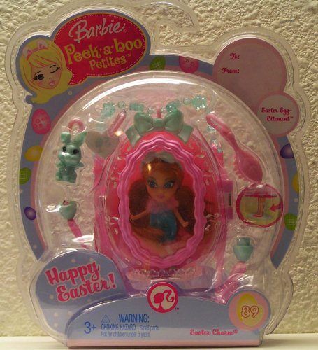 Barbie Peek a Boo Petites~Happy Easter~ Easter Charm #89 - 1