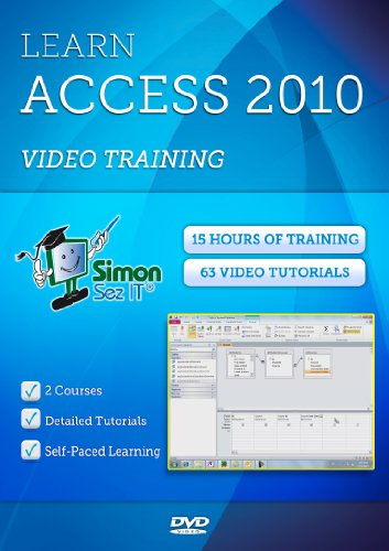 Microsoft Access 2010 Training - 15 Hours of Access 2010 Tutorials for Beginner, Intermediate and Advanced Learners
