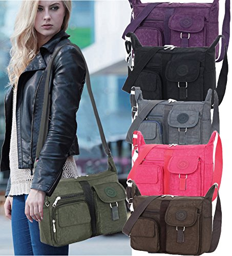 Fabuxry-Womens-Shoulder-Bags-Casual-Handbag-Travel-Bag-Messenger-Cross-Body-Nylon-Bags