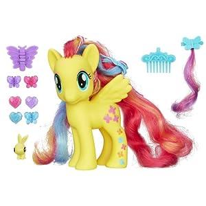 My Little Pony Styling Strands Fashion Pony Fluttershy Figure, 6-Inch by My Little Pony