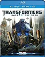 Transformers Dark Of The Moon Three-disc Combo Blu-ray 3d Blu-ray Dvd by Paramount Studios