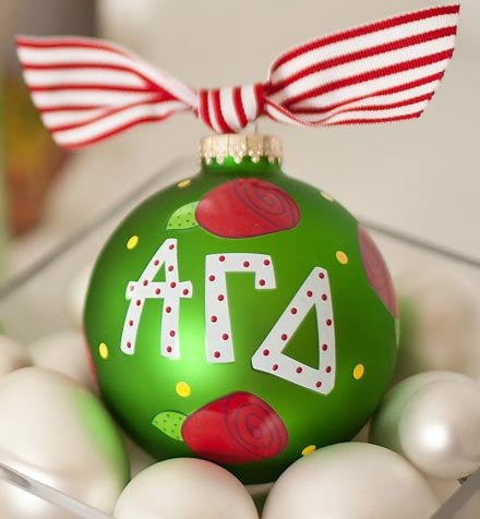 Coton Colors Rose Greek Life Ornament – AGD-ROSE-NOMSG