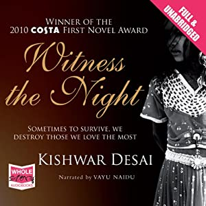 Witness the Night Audiobook