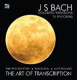 Bach : Variations Goldberg, 15 Sinfonias (transcriptions trio à cordes)