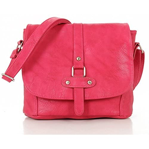Women Ladies Leather Style Quality Bag Satchel Shoulder Cross Body Handbag