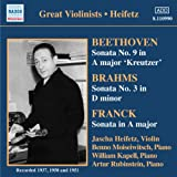 Jascha Heifetz, violon