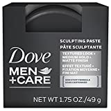 Dove Men+Care Hair Styling, Sculpting Paste 1.75 oz (Pack of 2)