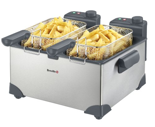 Breville VDF073 Twin Basket Pro Fryer
