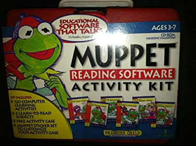 Muppet Reading Software Activity Kit
