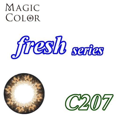 MAGICCOLOR (マジックカラー) fresh C207 度なし 14.0mm 1ヵ月使用 2枚入り