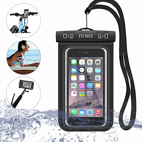 FicBox Cell Phone Dry Bag Waterproof Case