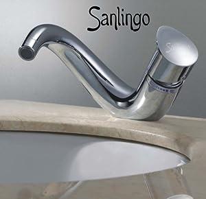 Sanlingo Designer Waschbecken Waschtisch Armatur ISEO Serie Horn  BaumarktKundenbewertung und Beschreibung
