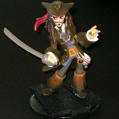 1 X DISNEY INFINITY Captain Jack Sparrow LOOSE figure