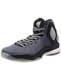 Adidas Men's D Rose 5 Boost , BLACK/GREY/WHITE