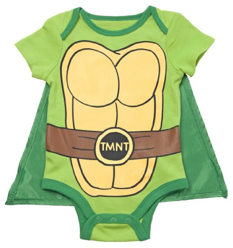 Teenage Mutant Ninja Turtles Caped Baby Costume Romper