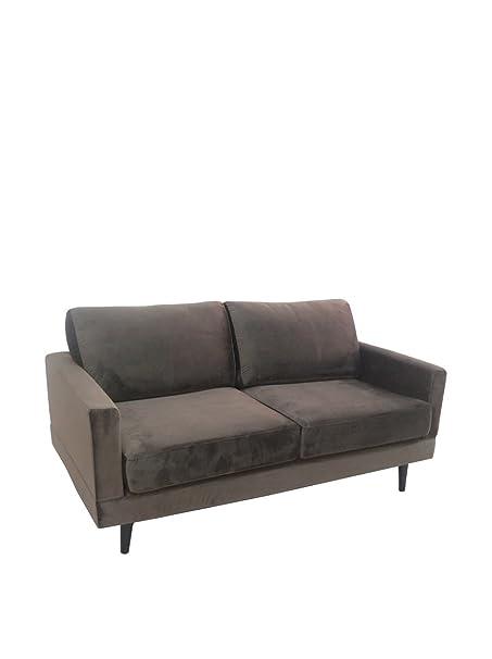 """Cos"" graue Zweisitzer-sofa"