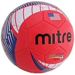 Mitre Cup Final Soccer Ball, USA, Size 5