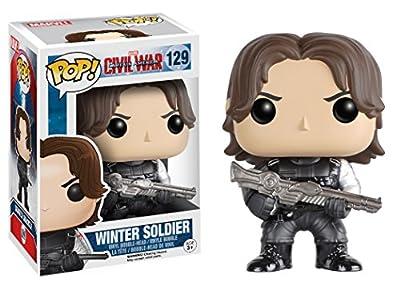 Funko POP Marvel Captain America 3 Civil War Action Figure - Winter Soldier from Funko